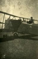 Syrie Sous Mandat Français Aviation Militaire Avion Ancienne Photo Snapshot 1930 - Aviation