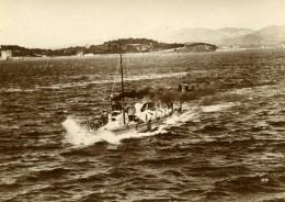 France Marine Militaire Bateau De Guerre Torpilleur 37 Ancienne Photo Marius Bar 1900 - Boats