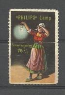 VIGNET  PHILIPS  LAMP  / Stroombesparing  75% - Vignettes De Fantaisie