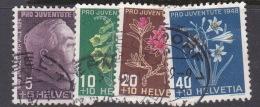 Switzerland Pro Juventute 1948 Used Set - Used Stamps