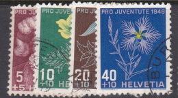 Switzerland Pro Juventute 1949 Used Set - Pro Juventute