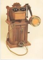 Bayerische Telephon-Tischstation Mit Holzmembrane 1895 / Téléphone Ancien - Verkehrsmuseum Nürnberg - Nuernberg