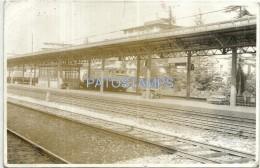 37536 ITALY BUSTO ARSIZIO STATION TRAIN PLATFORM  16.5 X 11.5 CM PHOTO NO POSTAL POSTCARD - Photographs