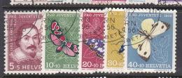 Switzerland Pro Juventute 1956 Used Set - Pro Juventute
