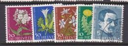Switzerland Pro Juventute 1960 Used Set - Used Stamps