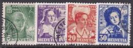 Switzerland Pro Juventute 1936 Used Set - Pro Juventute