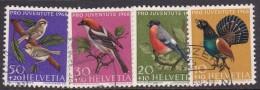 Switzerland Pro Juventute 1968 Used Set - Used Stamps