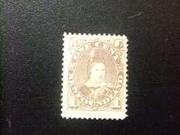 NEWFOUNDLAND TERRANOVA  TERRE NEUVE 1880  Prince De Galles Yvert Nº 35 * MH - 1865-1902