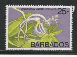 Barbados 1974, Scott #405 (MNG) Orchids: Eyelash - Barbades (1966-...)