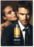 Carte Postale Echantillon HUGO BOSS The SCENT POUR HOMME Carte Neuve BOSS Parfum - Modern (from 1961)