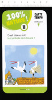 2 Scans Humour Pourquoi ... Cigognes Symbole Alsace Oiseaux Ours Polaire Réchauffement Climatique Fonte Banquise   BIM92 - Alte Papiere