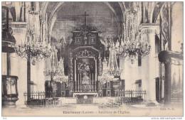 45.  Loiret : Courtenay : Interieur De L ´ église . - Courtenay
