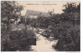 45. Loiret : Courtenay  : Chutes D ´ Eau Sur La Clery . - Courtenay
