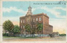 CA VICTORIAVILLE / Hôtel De Ville Et Marché / - Quebec