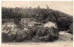 SAINT LEONARD ( Haute Vienne ) -  Le Moulin De Lartige -  1910 - Saint Leonard De Noblat