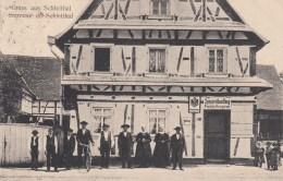 Gruss Aus Schleithal - Spezereihandlung Weisgerber  1918 - Sonstige Gemeinden