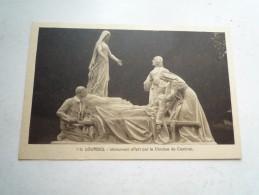 65 LOURDES MONUMENT OFFERT PAR LE DIOCESE DE CAMBRAI NON CIRCULEE   DOS DIVISE BON ETAT LL 110 - Lourdes