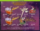 Mcx091 STADSPOST DRACHTSTER STADSDIENST KERSTMIS VOGELS BIRDS CHRISTMAS REINDEER LOCAL POST CITY POST NEDERLAND PF/MNH - Weihnachten