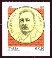 2016 ITALIA Repubblica Benedetto Croce Integro MNH ** - 6. 1946-.. República