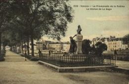 D 56 - VANNES - La Promenade De La Rabine - Colorisée - Franchise Postale - Vannes