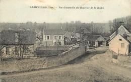 SAINTINES - Vue D'ensemble Du Quartier De La Roche. - France