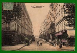 CP22 75 PARIS 233 Rue Chaudron - France