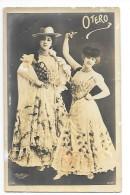 OTERO  (Dite La Belle Otéro) - Actrice Et Courtisane - Carte Photo D´Artiste - Reutlinger Paris -- Rare- - Artistes