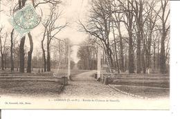 GAMBAIS   Entrée Du Chateau De Neuville     No 2 Foucault - France