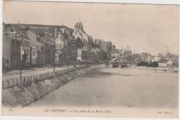 CPA:  LE  TREPORT (76):  Vue Prise De La Route D' Eu.        (A 4002) - Le Treport