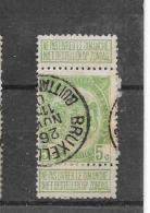 België 1907 Y&T Nr° 83 Bruxelles (°) - 1893-1907 Armoiries