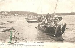 33 LA COTE D ARGENT LE CANON PARQUEURS DE RETOUR DU TRAVAIL SUR LE BASSIN D ARCACHON - Zonder Classificatie