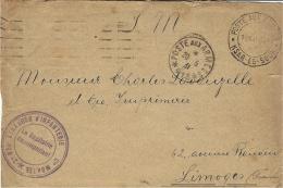 1931- 2è REGt ETRANGER D´INFANTERIE - S P 419 De Ksar-es- Souk  Pour Limoges - Cachets Militaires A Partir De 1900 (hors Guerres)