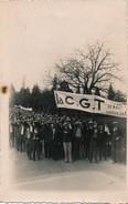 Carte Photo - Photo Manifestation Du Syndicat C.G.T. - Syndicats