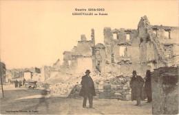 CPA Guerre 14.18 Gerbéviller En Ruines (animée) I498 - Gerbeviller