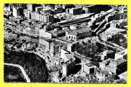 CPSM CONSTANTINE - Vue Aérienne Centre, Place Lamoricière, Casino PLAN LARGE  « PRIX FIXE Et Net » - Constantine