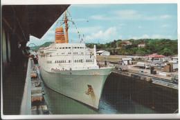 Vapeur Touriste  Canal De Panama - Dampfer