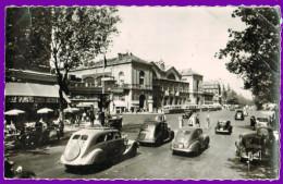 10788 Cpa  PARIS : Boulevard Montparnasse   , Carte Photo1955 - France