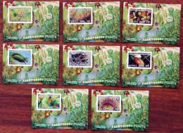 10 SHEETS COLLECTION CARNIVOROUS PLANTS PLANTES CARNIVORES PLANTAS CARNIVORAS - Altri