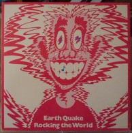 EARTH QUAKE - 33 LP JBZ-0045 - ROCKING THE WORLD  - 1975 - NM/NM - Rock