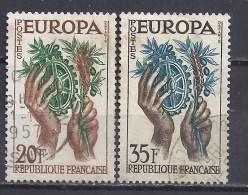 FRANCE - Yvert - 1118/19 - Europa-CEPT