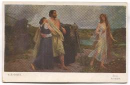 A.D. GOLTZ Painter - Life, Art Postcard, 1920. - Künstlerkarten