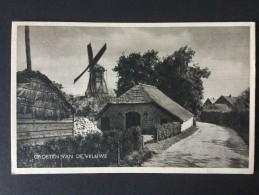 Netherlands---groeten Van De Veluwe---,uitg.Rembrandt,Amsterdam---,gebruikt 1953 - Gruss Aus.../ Gruesse Aus...