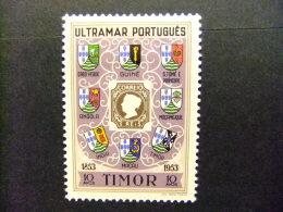 TIMOR 1953 Centenario Del Sello Portuges Yvert Nº 287 * MH - Timor