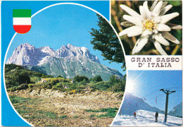 CARTOLINA   GRAN SASSO D' ITALIA     VIAGGIATA 1977 - Italia