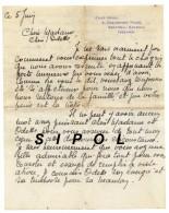 Lettre à Entête  Chez Nous , 3 Dalysfort Road Salthill Galway Ireland Années 1930 Env BE - Royaume-Uni