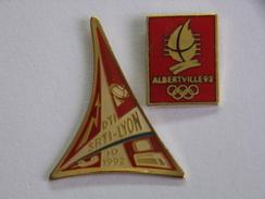 Pin's - Jeux Olympiques - JO - ALBERTVILLE  1992 - DTI  SRTI  LYON - Olympic Games