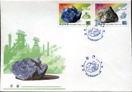 7971  North Korea,  Fdc  Minerals  2000 - Minerals