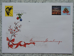 Seasons Greetings Envelope Of Papua New Guinea (PNG) - Papouasie-Nouvelle-Guinée