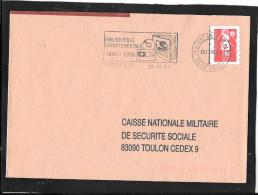 FLAMME TEMPORAIRE  79  NIORT  CT - 1961-....