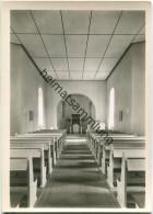 Berlin - Alt-Lankwitz - Dorfkirche - Innenansicht - Foto-Ansichtskarte - Lankwitz